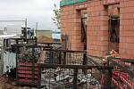 Stavba nového sběrného dvora u neředínského hřbitova