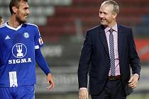 Tomáš Chorý a trenér Václav Jílek