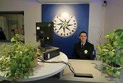 Nová policejní recepce v Sokolské.