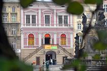 Masné krámy na Dolním náměstí.