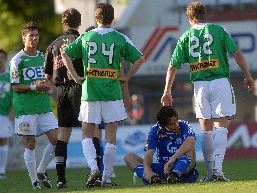 Fotbalisté SK Sigma Olomouc byli v utkání proti Jablonci kousek od vítězství.