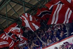 Fanoušci HC Olomouc.