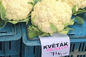 Olomoucká tržnice, sobota 23. května 2020