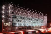 Nová budova krajského soudu.