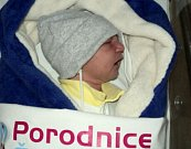Marian Duna, Rýžoviště, narozen 4. prosince ve Šternberku, míra 49 cm, váha 3230 g
