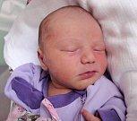 Adriana Černá, Velká Bystřice, narozena 18. května v Olomouci, míra 51 cm, váha 3130 g.