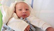 Martin Veselka, Hlubočky, narozen 18. května v Olomouci, míra 49 cm, váha 3550 g.