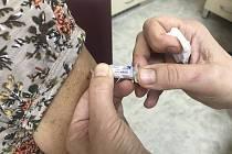 Očkování proti chřipce. Ilustrační foto