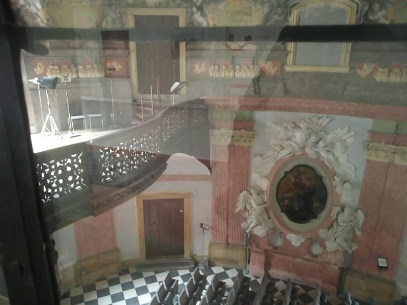 Filmová místa v Olomouci. Olomoucký konvikt - kaple Božího Těla