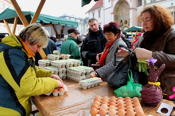 Hanácký farmářský trh vOlomouci