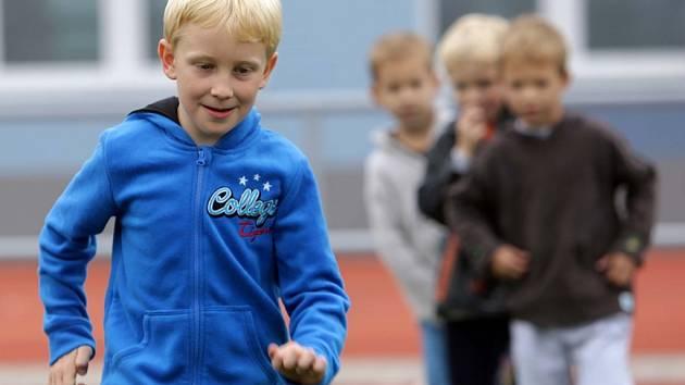 Nábor dětí do Sigmy Olomouc. Ilustrační foto