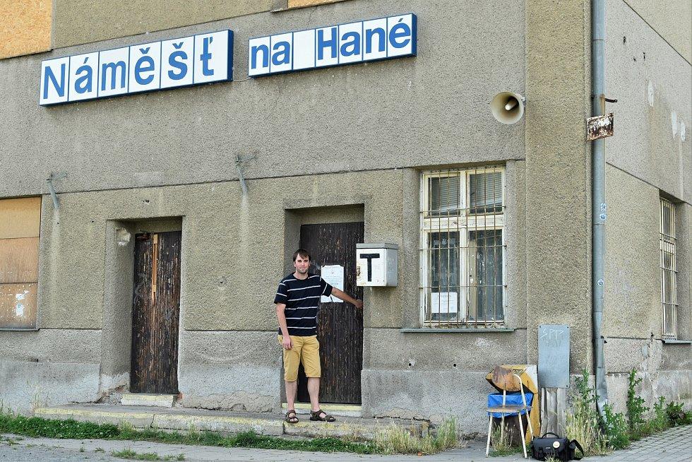 Martin Kašpar ze spolku Nádraží Náměšť, 22. 7. 2020