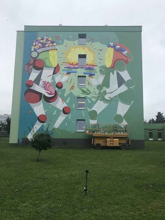 Dvanáctý ročník Street art festivalu je po roce zpět v Olomouci a oslavuje svobodu.