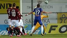 Sigma proti Spartě. Olomouc střílí vítězný gól