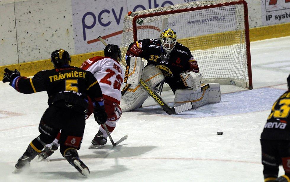 Hokejisté Olomouce proti Litvínovu