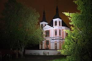 Chrám ve Staré Vodě na Libavé je poprvé součástí Noci kostelů
