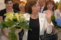 Livia Klausová ve Šternberku