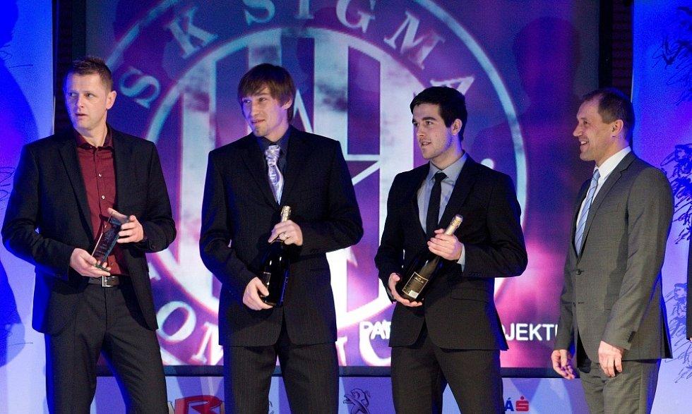 Vyhlášení ankety Nejlepší sportovec Olomoucka 2012: prvoligový tým Sigmy Olomouc