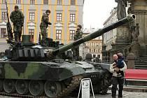 Týden s armádou v Olomouci