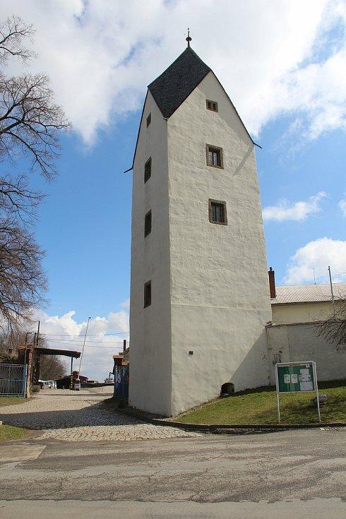 Černá věž v Drahanovicích