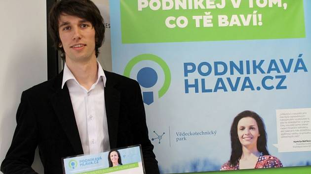 Martin Zavadil zvítězil v soutěži Podnikavá hlava s internetovým portálem, který nabízí záznamy divadelních představení.  Foto: