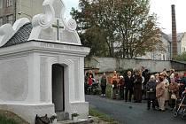 Vysvěcení zrekonstruované kaple svatého Isidora v Řepčíně