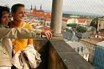 Vyhlídka z věže olomoucké radnice