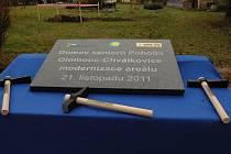 Zahájení stavby nového pavilonu Domova seniorů Pohoda v Olomouci