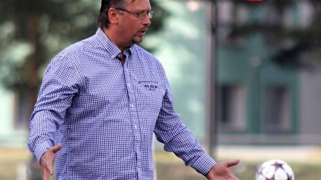 Trenér Uničova Zdeněk Strouhal