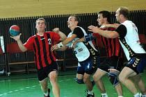 Házenkáři STM Olomouc u míče