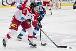 Bílí Tygři Liberec proti HC Olomouc. Jakub Herman.