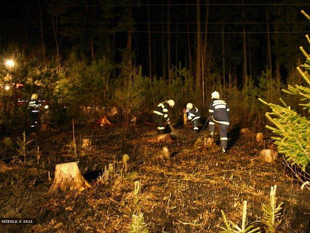 Silný vítr v Olomouckém kraji přinesl v pátek 8. a v sobotu 9. dubna profesionálním i dobrovolným hasičům spoustu práce, nechyběly pády stromů i požár lesa.