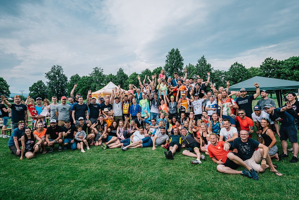 8. ročník  triatlonového závodu Šutr v Šumvaldě.