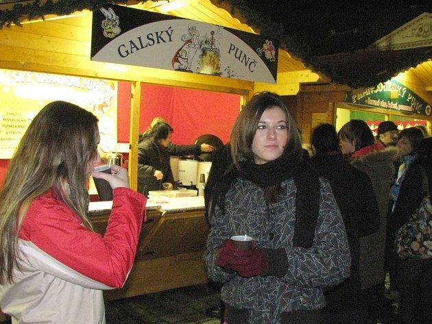 Vánoční trhy na Horním náměstí