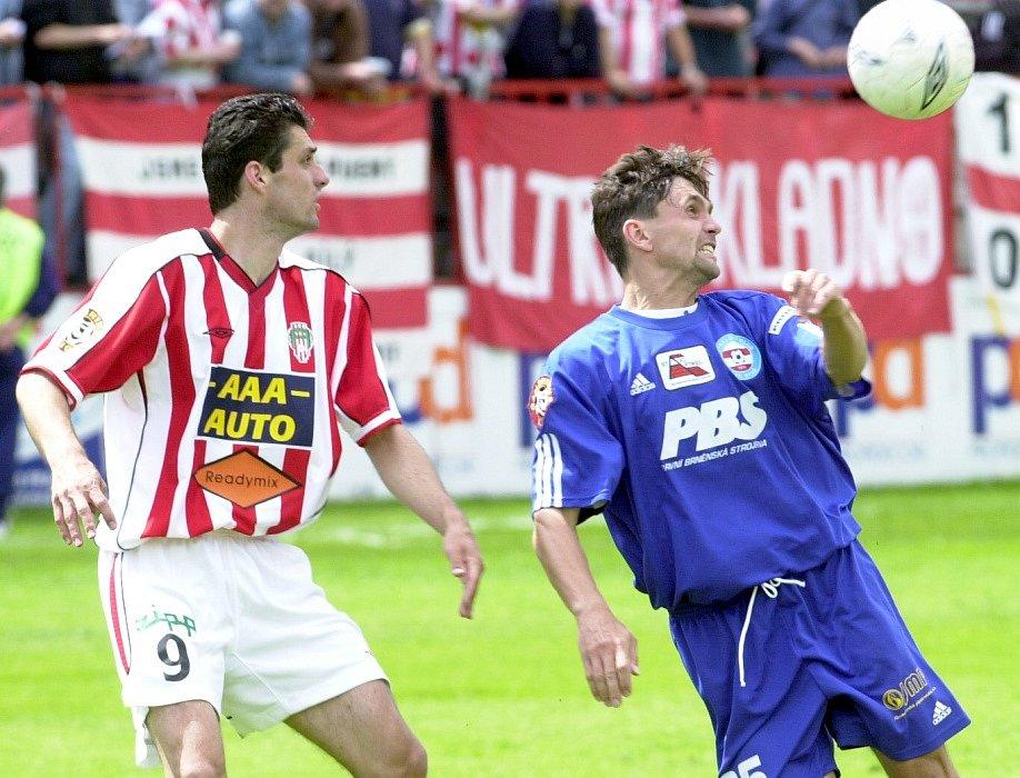 2003 - Kotůlek v dresu Brna (vpravo)
