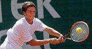 Mezinárodní tenisový turnaj juniorů do 18-ti let ve Vésce. Vít Kopřiva