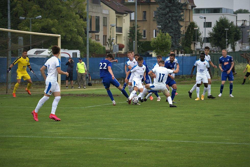 Béčko Sigmy remizovalo v domácím utkání s rezervou Baníku 3:3.
