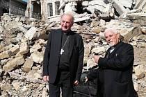Arcibiskup Jan Graubner se společně s dalšími lidmi vydal do iráckých měst zničených bojovníky Islámského státu, aby zmapoval potřeby obyvatel v místech poznamenaných válkou.