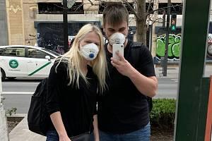 Olomoucký student Vojtěch Ruskin se s přítelkyní vrátil ze studií v anadaluzské Granadě na začátku epidemie koronaviru
