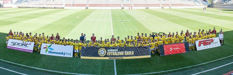 Olomoucká fotbalová škola 2019