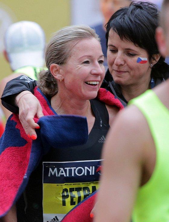Olomoucký půlmaraton 2018: Petra Kamínková