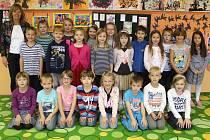 1. třída ZŠ Náklo, třídní učitelka Jitka Dohnalová