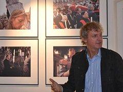 Jan Šibík v galeriizet ve Velké Bystřici