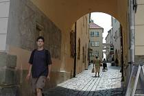 Školní ulice z Horního náměstí