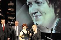 Olomoucká veslařka Pavlína Žižková na vyhlášení Sportovce kraje v Prostějově