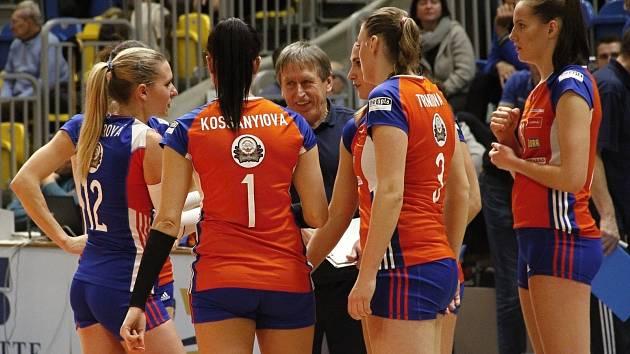 3445f0d7224 Olomoucké volejbalistky bojovaly v Rumunsku pět setů