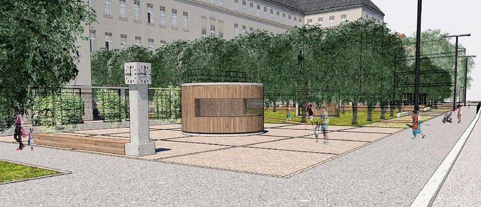 Návrh úprav Žižkova náměstí v Olomouci od Ateliéru Sborwitz