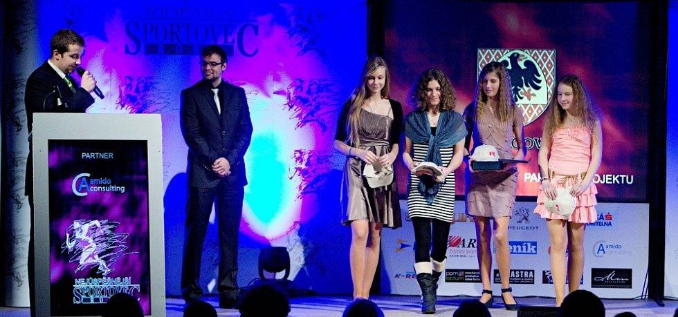 Vyhlášení ankety Nejlepší sportovec Olomoucka 2012