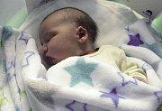 Damián Nakládal, Jedlí, narozen 23. října v Olomouci, váha 3950 g