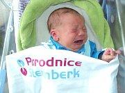 Matyáš Nehyba, Dolany u Olomouce narozen 21. října míra 52 cm, váha 4440 g